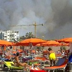 L&#8217;incendio di Marina