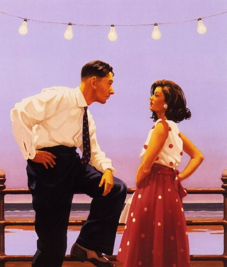 06 443 08 Jack Vettriano, 1951 - Dance me to the end of love - Tutt'Art@ (9)